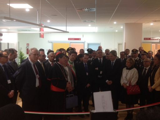Gentiloni inaugura il Trauma Center di Careggi