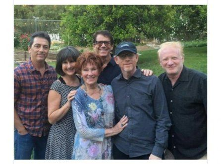 Happy Days, la reunion del cast al funerale di Erin Moran
