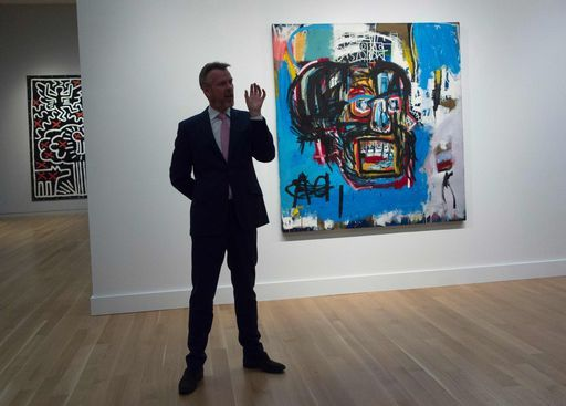 Usa, quadro di Basquiat venduto all'asta per 110 milioni Usd