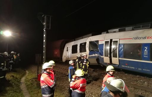 Scontro fra treni in Germania