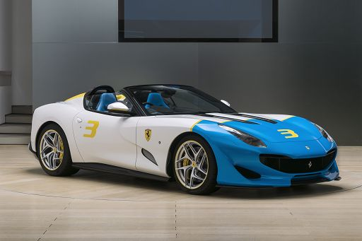 "Ferrari: arriva la roadster ""Sp3Jc"", nuova one-off di Maranello"