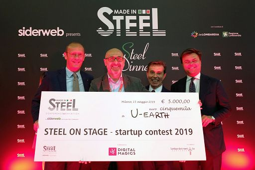 "Startup, U-Earth Biotech vince contest su acciaio ""Steel on stage"""