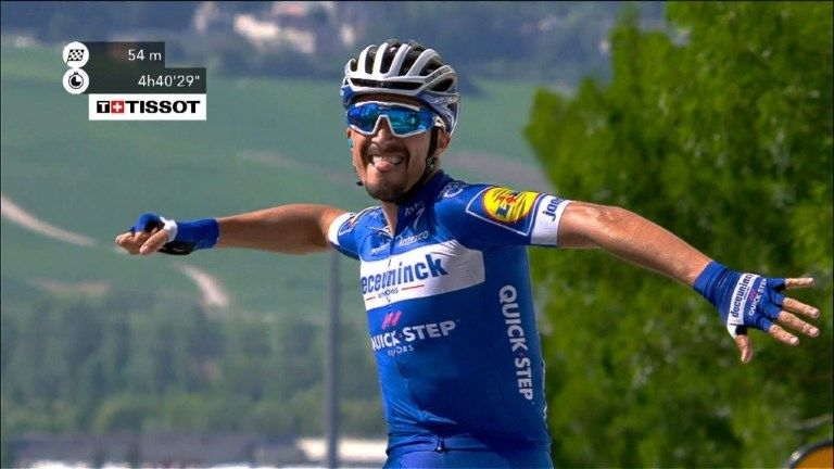Tour de France, tappa a Sagan. Alaphilippe in giallo
