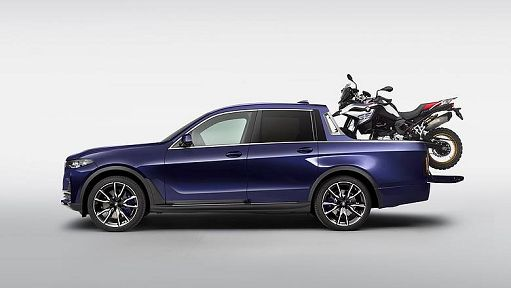 Bmw X7, concept pick up