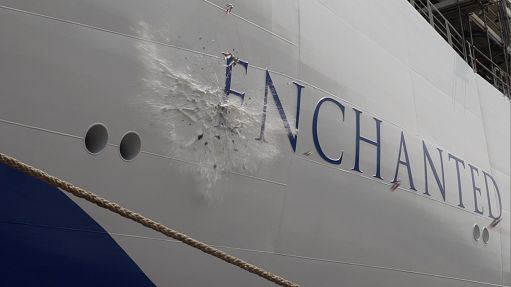 "Fincantieri, varata a Monfalcone ""Enchanted Princess"""